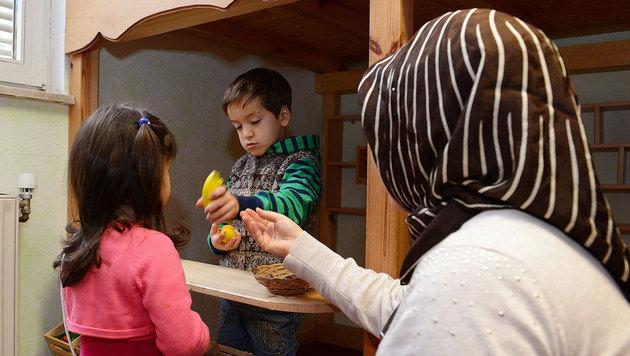 Streit um Förder-Millionen für Islam-Kindergärten (Bild: APA/dpa/Uli Deck)