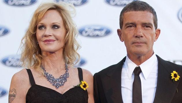 Melanie Griffith und Antonio Banderas sind jetzt offiziell geschieden. (Bild: APA/EPA/JORGE ZAPATA)