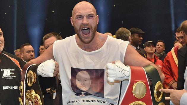 Irre! Fury verarscht Box-Welt mit Fake-Rücktritt (Bild: AP)