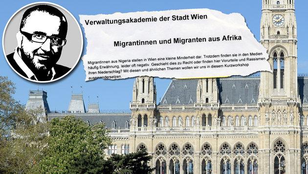 """""""Mehr Verständnis für nigerianische Mitbürger"""" (Bild: APA/ROLAND SCHLAGER, """"Krone"""")"""