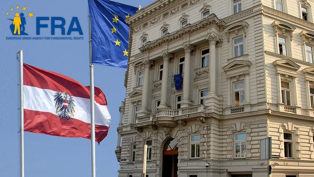 Rassismus-Vorwürfe gegen EU-Büro in Wien (Bild: APA/HELMUTH FOHRINGER, fra.europa.eu)