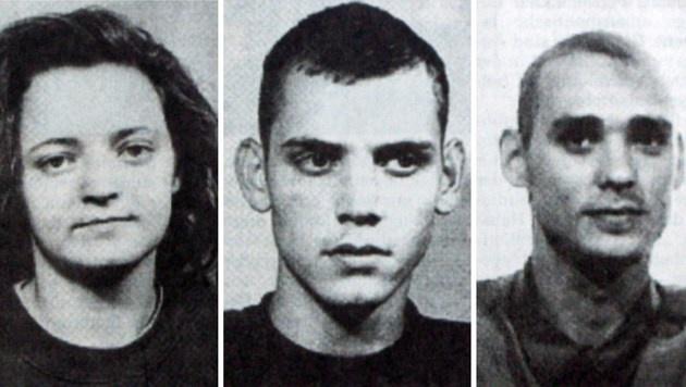 Beate Zschäpe, Uwe Böhnhardt und Uwe Mundlos (Bild: APA/AFP/FRANK DOEBERT/OSTTHUERINGER ZEIT)