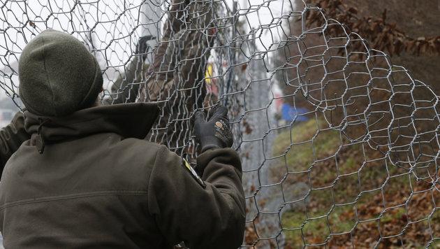 """""""Ja, es müssen weniger Flüchtlinge werden!"""" (Bild: APA/Erwin Scheriau)"""