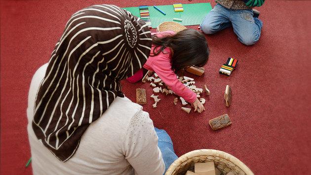Terror-Finanzierung über Wiens Islam-Kindergärten? (Bild: APA/dpa/Uli Deck)