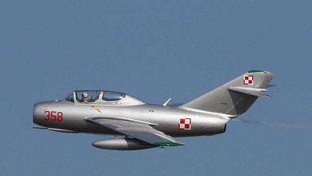 """""""Mit MiG in Stratosphäre & Abenteuer als Wikinger (Bild: Wikimedia)"""""""