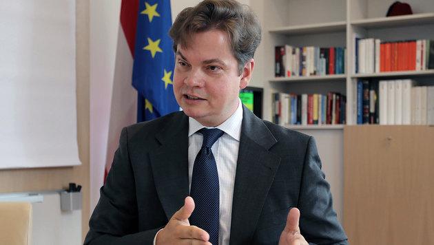 Christoph Neumayer, Generalsekretär der Industriellenvereinigung (Bild: Zwefo)