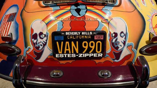 Janis Joplins Porsche (Bild: APA/AFP/DON EMMERT)