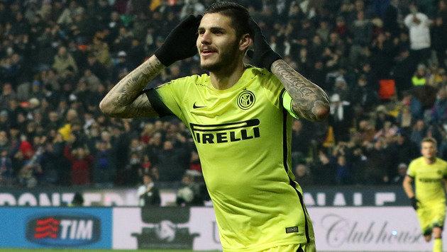 Inter Mailand festigt Führung mit 4:0 in Udine (Bild: AP)