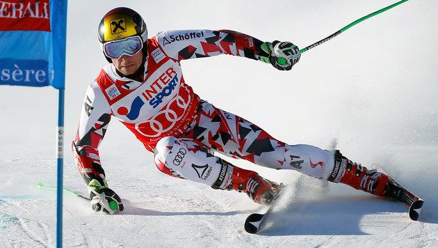 "Marcel Hirscher triumphiert auch in Val d""Isere (Bild: APA/EPA/GUILLAUME HORCAJUELO)"