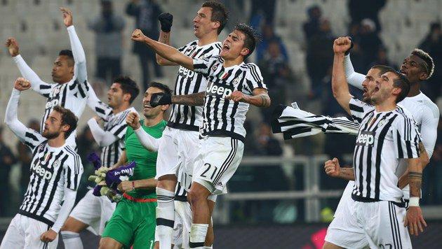 Juventus nach 3:1 weiter auf dem Vormarsch (Bild: AFP)