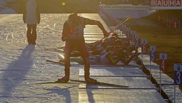 ÖSV-Biathleten nach Super-Laufleistung Vierte! (Bild: GEPA pictures)