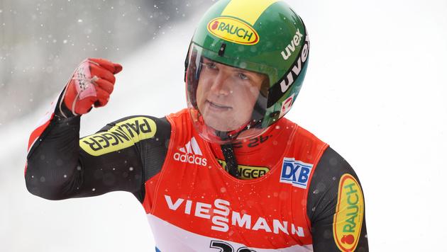 Rodeln: Wolfgang Kindl übernimmt Weltcupführung (Bild: GEPA)