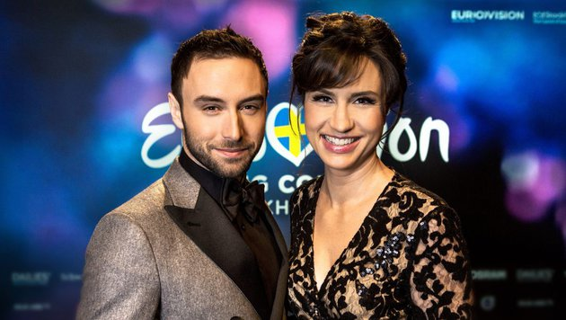 61. Song Contest: Mans Zelmerlöw wird mit Petra Mede moderieren (Bild: Eurovision.tv)