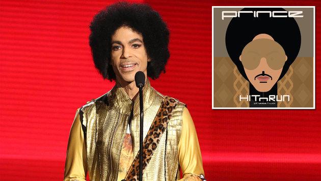 Neues Prince-Album bei Streamingdienst erschienen (Bild: AP, Twitter/Prince)