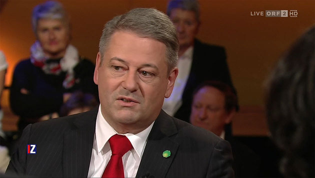 """Historisches Abkommen in Paris"": Umweltminister Andrä Rupprechter (Bild: tvthek.orf.at)"