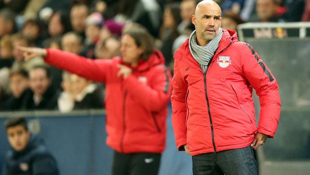 Salzburg auf Trainersuche! Letschs Mission beendet (Bild: APA/KRUGFOTO)