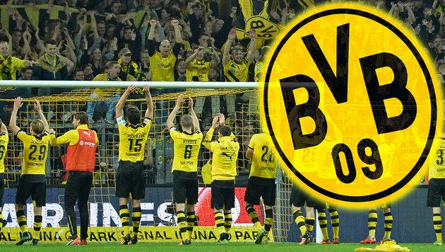 """Dortmund-Fan """"trainierte"""" nackt im Stadion (Bild: AP)"""