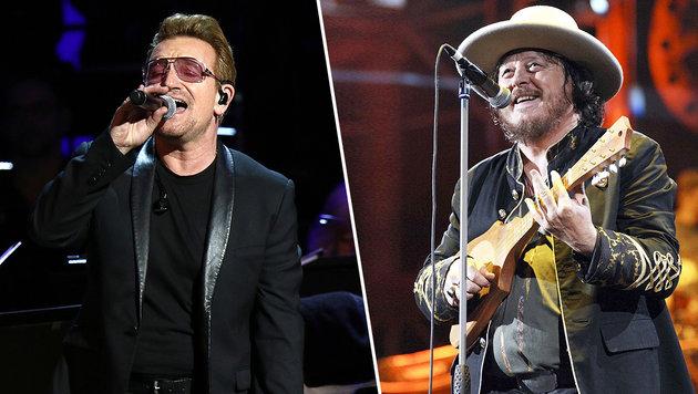Bono schreibt für Zucchero einen Song über Paris (Bild: AP, Viennareport)