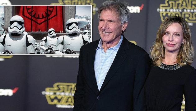 """Harrison Ford über neuen """"Star Wars"""": """"Großartig!"""" (Bild: AP)"""