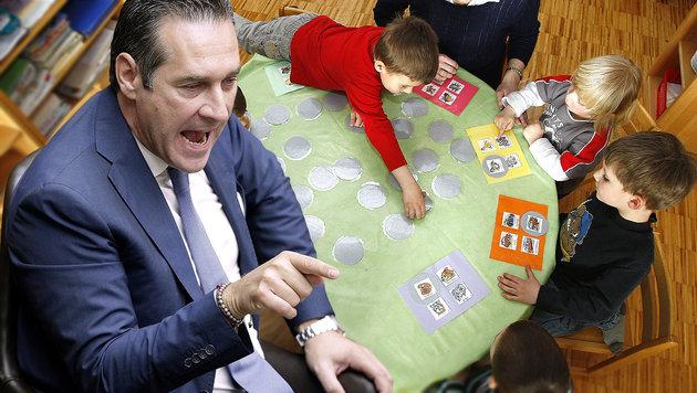 """""""Im Kindergarten-Krimi Haftbefehle überfällig"""" (Bild: APA/GEORG HOCHMUTH, APA/Harald Schneider)"""
