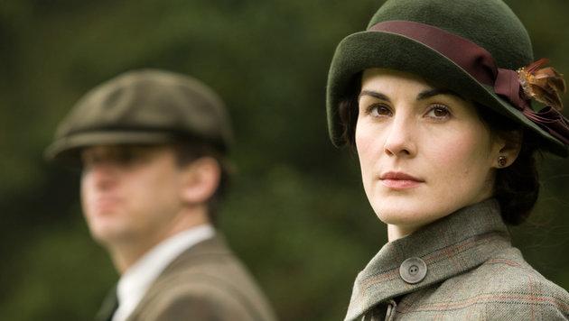 "Michelle Dockery in ihrer Rolle als Lady Mary Crawley in der Serie ""Downtown Abbey"". (Bild: AP)"