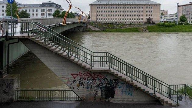 Hier geschah die brutale Attacke eines rumänischen Bettlers auf die Salzburgerin, die helfen wollte. (Bild: Albert Moser)