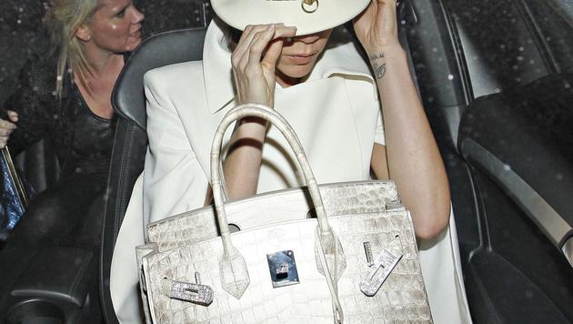 Victoria Beckham bekam einst eine Birkin Bag von Gatte David. (Bild: Viennareport)