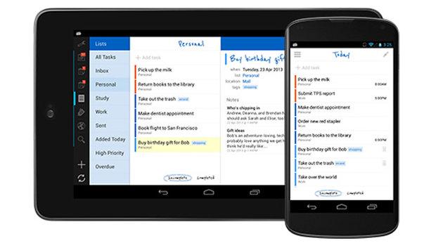 Mit diesen Apps klappt's mit den Neujahrsvorsätzen (Bild: rememberthemilk.com)
