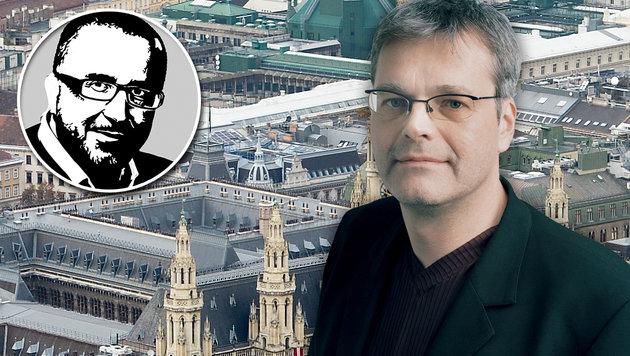Martin Margulies (Bild: APA/HERBERT NEUBAUER, Die Grünen, Krone-Grafik)