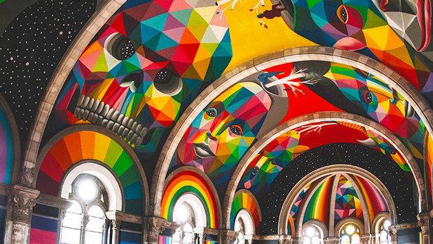 """Kirche als Skater-Park: Darf man das? (Bild: La Iglesia Skate / Red Bull Media)"""
