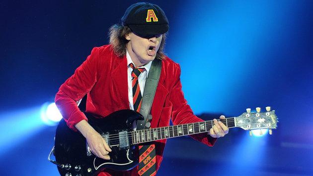 Countdown für AC/DC: Der Ticketverkauf startet (Bild: APA/EPA/JOEL CARRETT)