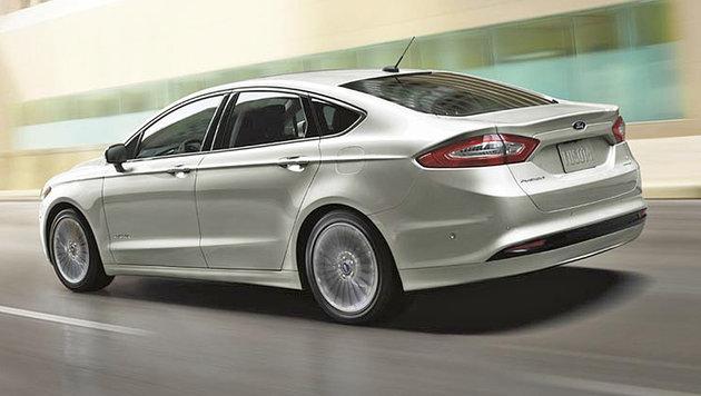 Ford testet selbstfahrende Autos in Kalifornien (Bild: Ford)
