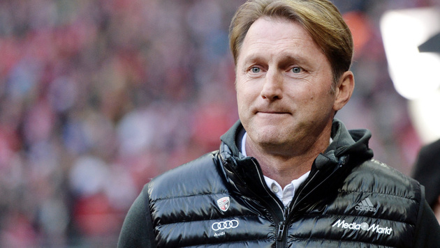"Hasenhüttl umworben: ""Zukunft schnell klären"" (Bild: GEPA)"