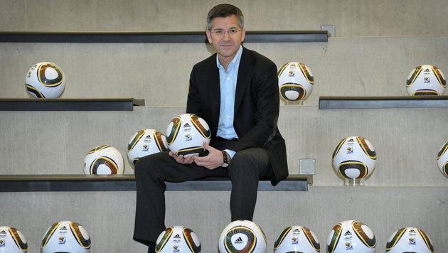 Adidas-Vorstandschef Herbert Hainer (Bild: dpa/David Ebener)