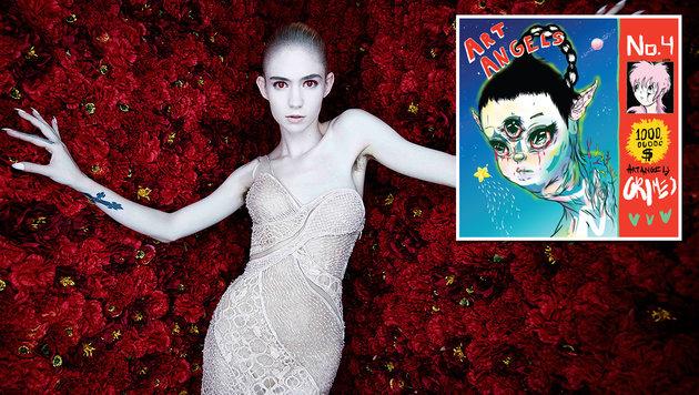 Pop-Künstlerin Grimes: Jagd auf Lady Gaga (Bild: Beggars Group, Rankin)