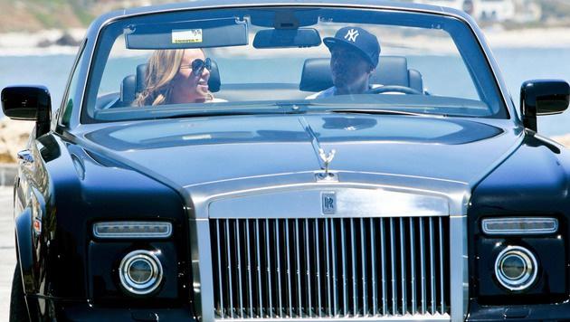 Mariah Careys Ex schenkte ihr einen schwarzen Rolls-Royce. (Bild: Viennareport)