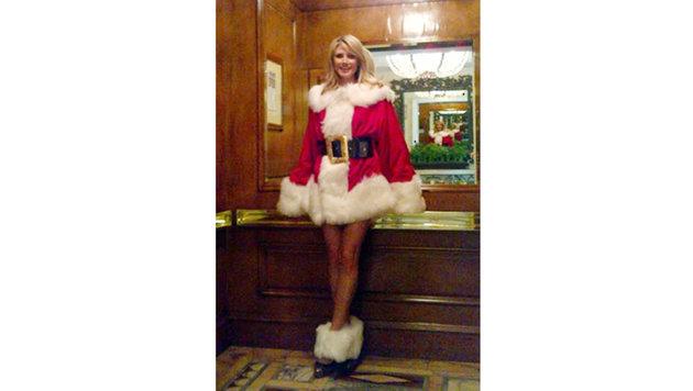 """Mrs. Santa"" Heidi Klum (Bild: Viennareport)"