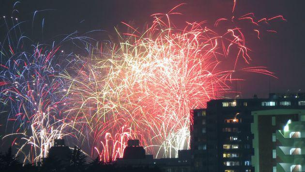 Feuerwerk fotografieren: Darauf müssen Sie achten! (Bild: AFP)