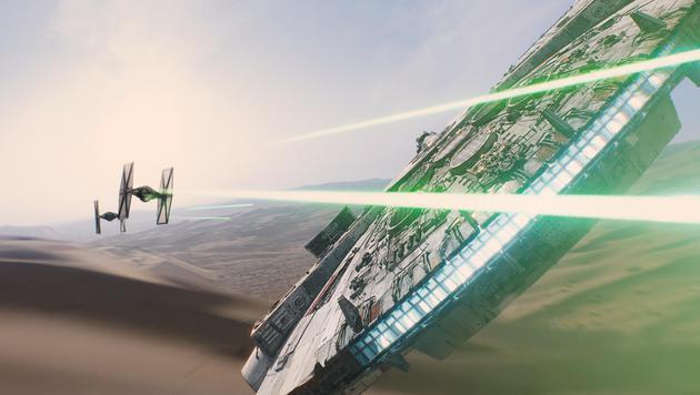 """""""Han Solo kriegt Probleme mit der Versicherung (Bild: Star Wars BF)"""""""