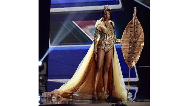 """Miss South Africa"" Refilwe Mthimunye (Bild: APA/EPA/MIKE NELSON)"