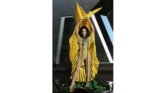 """Miss Ireland"" Joanna Cooper (Bild: APA/EPA/MIKE NELSON)"