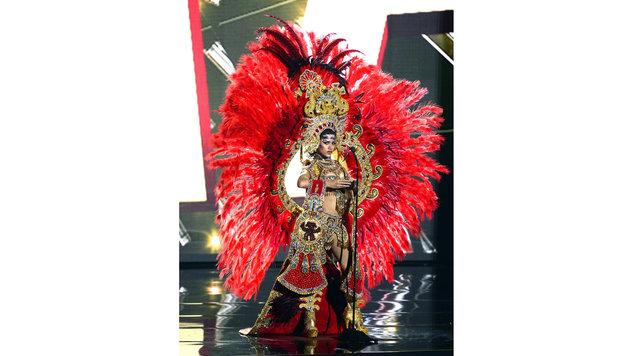 """""""Miss Panama"""" Gladys Brandao Amaya (Bild: APA/EPA/MIKE NELSON)"""
