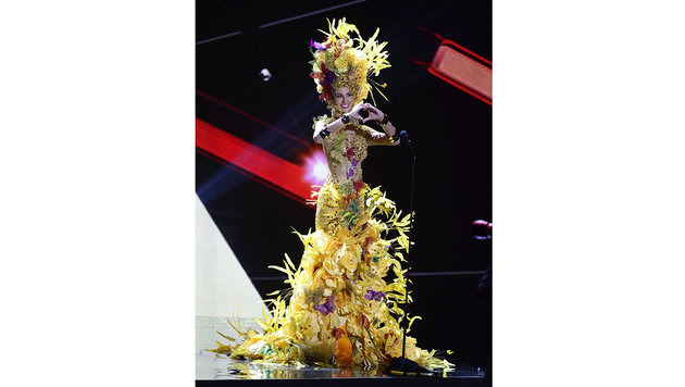 """Miss Brazil"" Marthina Brandt (Bild: APA/EPA/MIKE NELSON)"