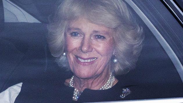 Herzogin Camilla auf dem Weg zum 'Queen's Christmas Lunch'. (Bild: Viennareport)