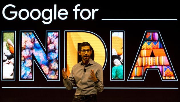 Google-Chef Sundar Pichai hat über 20 Smartphones (Bild: AP)