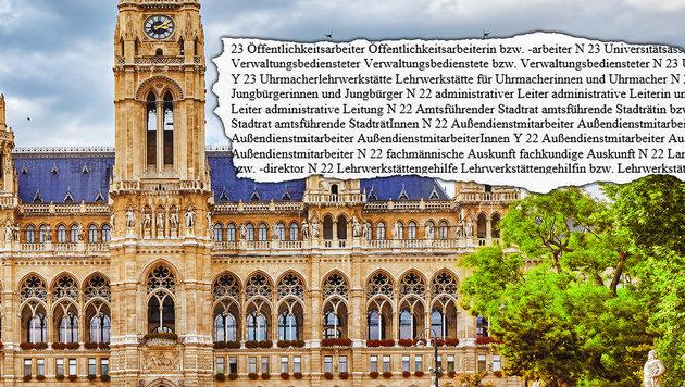 "Stadt Wien hat ""Dezernat f�r korrektes Gendern"" (Bild: thinkstockphotos.de)"