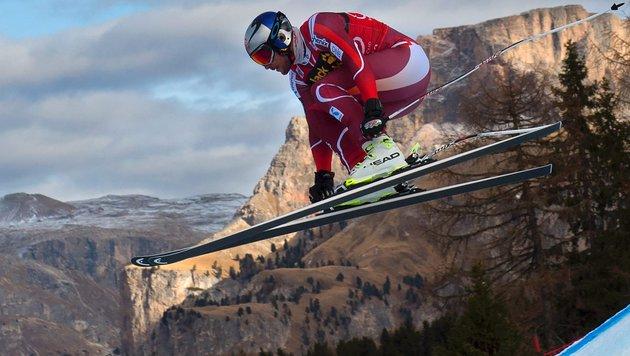 Svindal in Gröden erneut voran, Mayer auf Platz 10 (Bild: AFP or licensors)