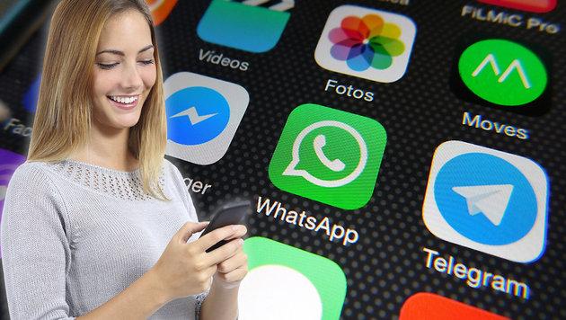 Vater muss WhatsApp von Handys der Töchter löschen (Bild: thinkstcokphotos.de, flickr.com/Microsiervos)