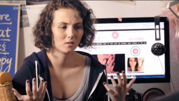 """Was bitte ist ein """"feministischer Porno""""? (Bild: Screenshot tvthek.orf.at)"""