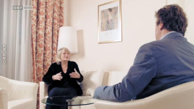 Alice Schwarzer im Gespräch mit Settele (Bild: Scereenshot tvthek.orf.at)